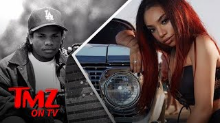 Eazy-E's Daughter Celebrates His Birthday with Chevy Impala Photo Shoot | TMZ TV