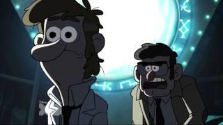 Gravity Falls: Fiddleford's Backwards Message DECODED