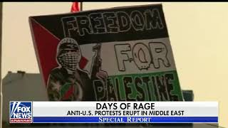 Protests over Trump's Jerusalem move