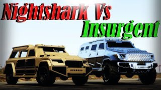 Gta 5 Online | Nightshark Vs Insurgent - Speed, Armor, And More - Which To Buy??