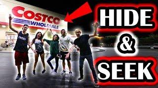 HIDE AND SEEK IN COSTCO Video