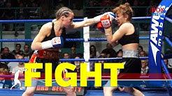 Ramona Kuehne vs Nana Chakhvashvili - 8 rounds super featherweight - 09.02.2019 - Dorf Mecklenburg