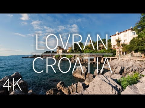 Lovran — Croatia | DRONE FOOTAGE | Pointers Travel