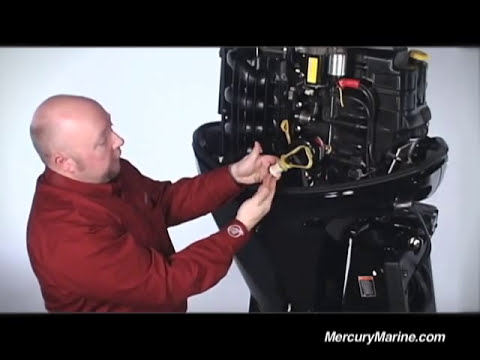 Mercury 150hp FourStroke - Ease of Maintenance