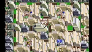 Sim City Snes Megalopolis 916,000 citizens