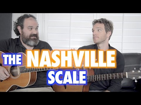 Behold the Nashville Scale