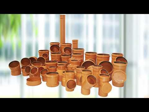 Трубы и фитинги для систем канализации