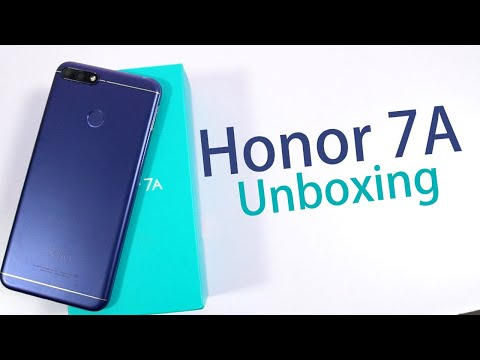 Honor 7A Unboxing, Price , Specs And Features