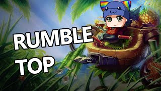 League of Legends - Rumble Top - Full Game With Sykkuno