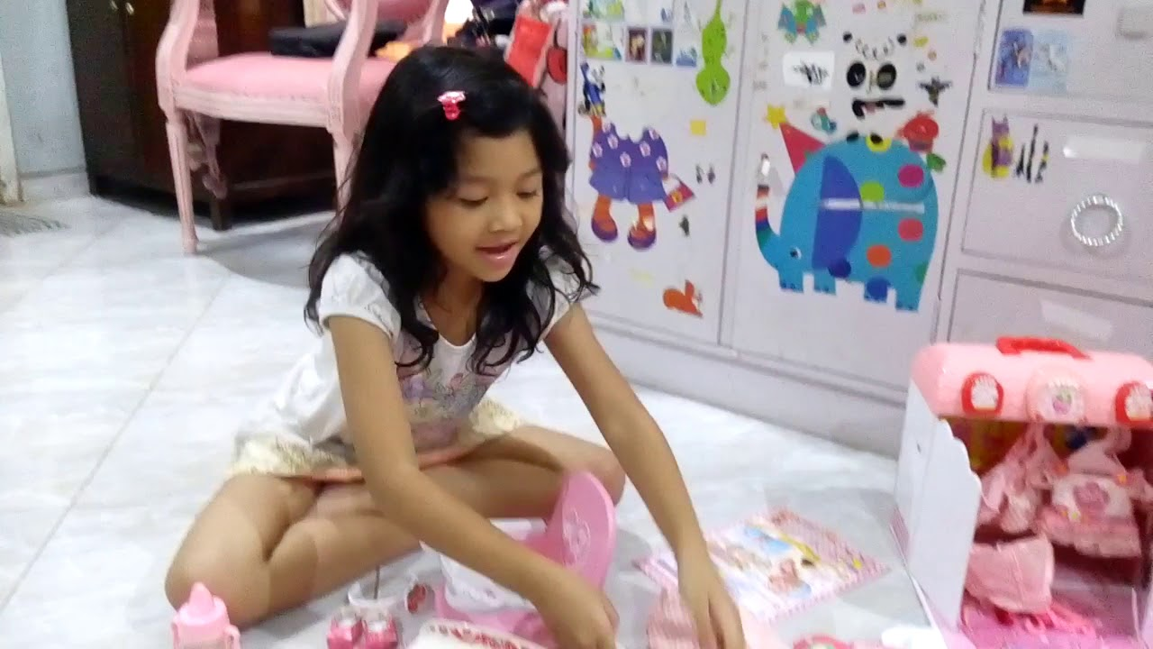 Mell Japan Baby Doll Toys Review By Kirana - Youtube-5419