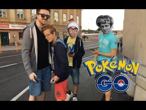 Forsen Plays Pokémon Go: Meeting Fans On The Streets Of Stockholm (Cringe Warning)