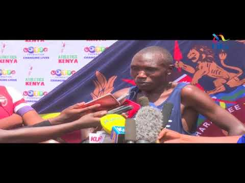 Angry Kamworor takes on the Kenya Police and IG Boinnet responds