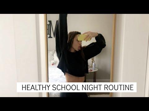 JUNIOR IN HIGHSCHOOL SCHOOL NIGHT ROUTINE | Emma MacDonald