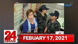 24 Oras Express: February 17, 2021 [HD]