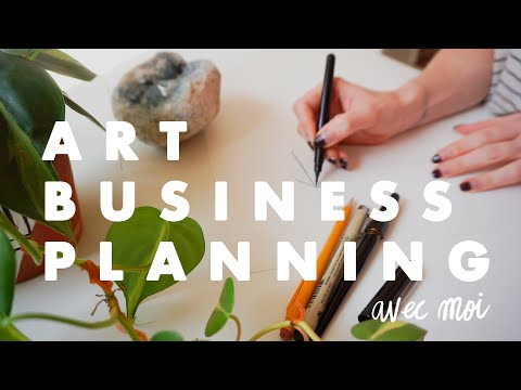 Creating A Business Plan! | for artists & illustrators