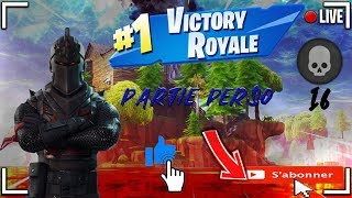 LIVE FORTNITE EN / [FACECAM] PART PERSO WITH YOU CREATIVE CODE: RODRIGUE2309