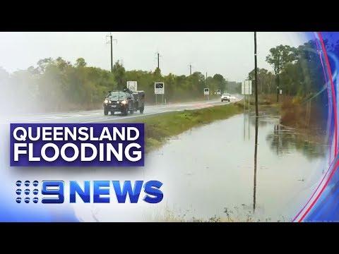 Flash Flooding Ravages Queensland Coast | Nine News Australia