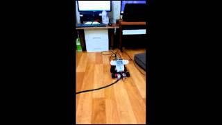 Lego Mindstorm EV3 / NXT self Driving 02. line tracing (Curve)