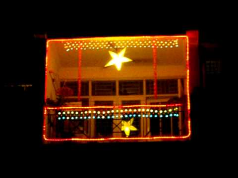 diwali 2010 lighting my balcony 1 youtube
