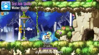 Ayumilove MapleStory Mercedes 1st 2nd 3rd 4th Job Skill Preview