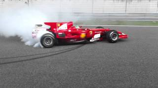 Ferrari F1 Burnout - F2008 Fisichella At Ferrari Racing Days Shanghai