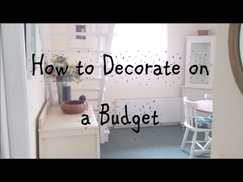How To Decorate Your Home On A Tight Budget U0026 Save Money!: Dining Room U0026  Hall Tour
