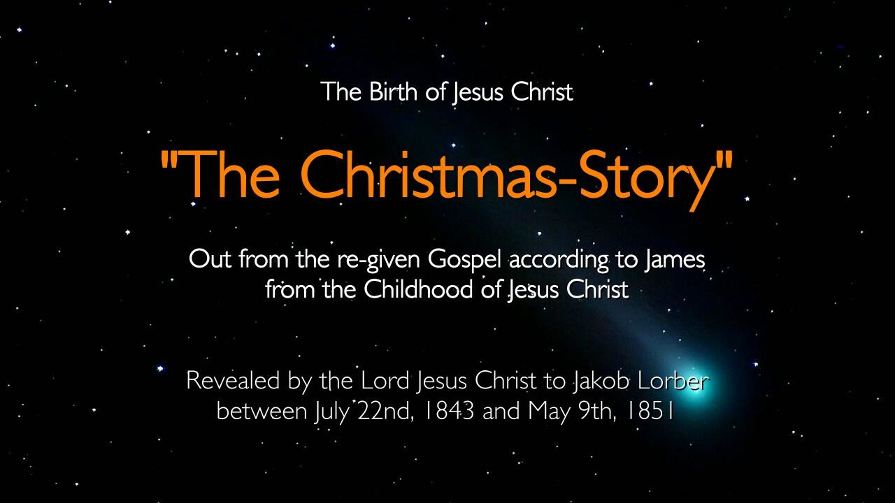 BIRTH Of JESUS CHRIST... The Christmas-Story told by Jesus ...
