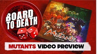 Mutants Board Game Preview - Board to Death TV