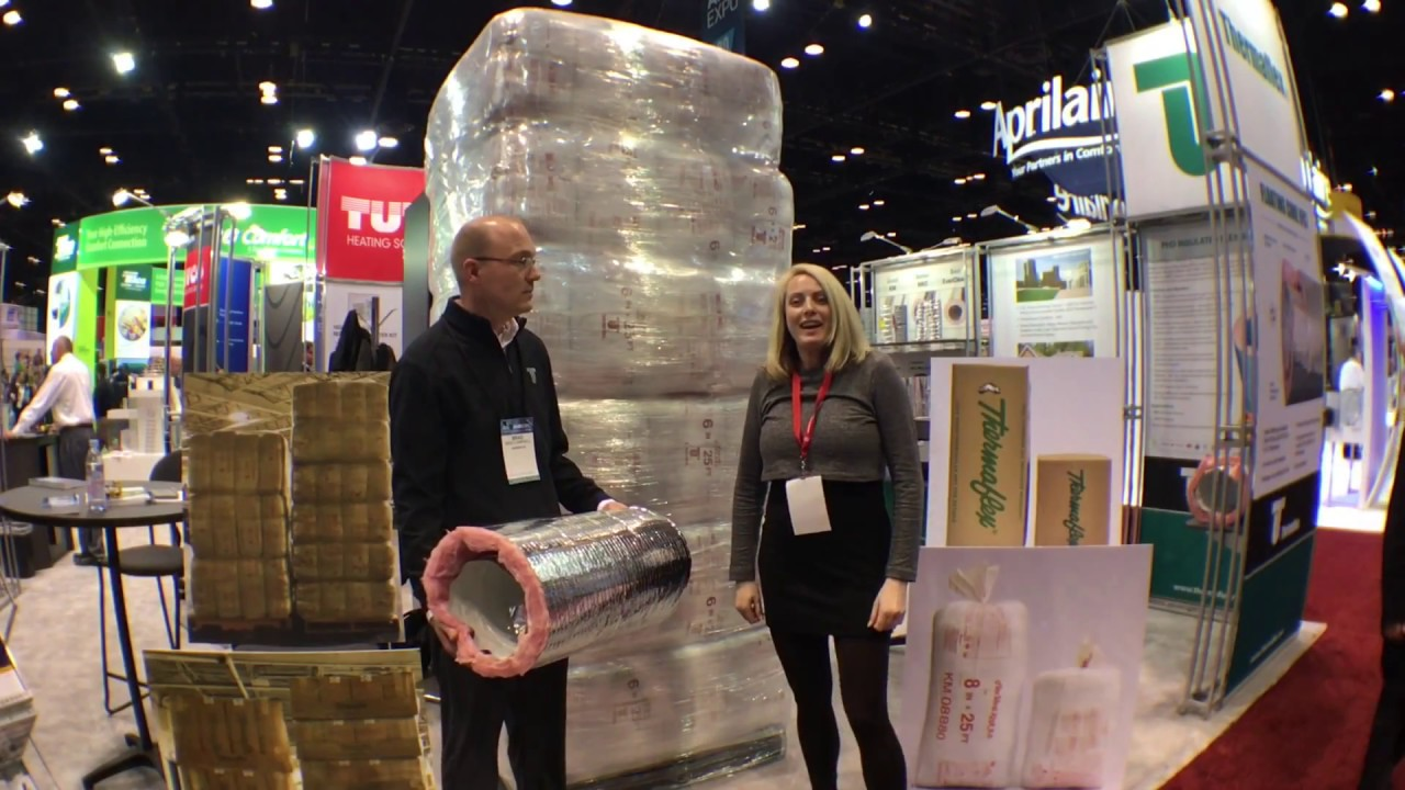 New Floating Core FC Technology from Thermaflex at AHR Expo 2018!