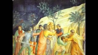 Arrestation de Jésus au jardin de Gethsémani