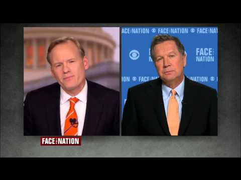 """Kasich Expresses Agreement with Gov. Nikki Haley During """"Face The Nation"""" Appearance"""