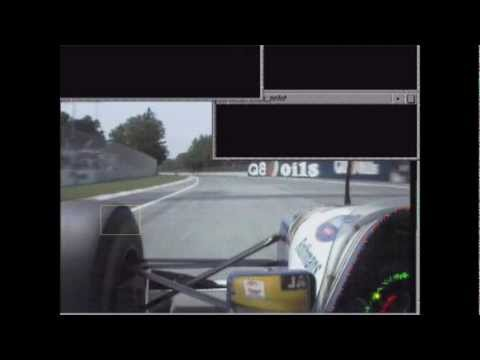 Senna, Lap 7, left front tyre analysis