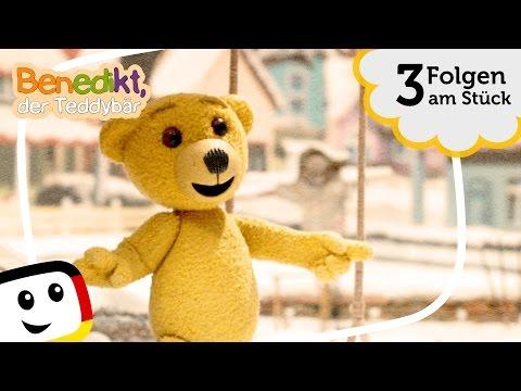 Zeichentrick I Benedikt der Teddybär I 3 Folgen am Stück I Kinder Serie deutsch