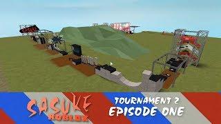 SASUKE Roblox Turnier 2, Folge 1