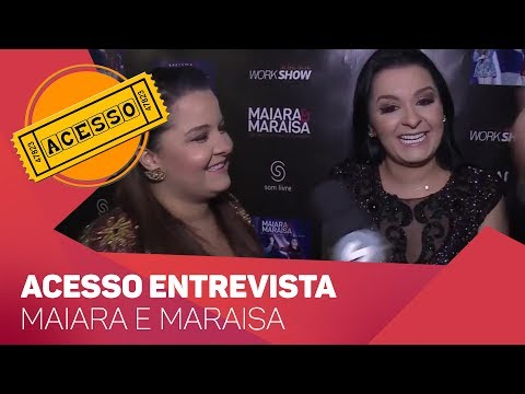 Acesso entrevista Maiara e Maraisa - TV SOROCABA/SBT