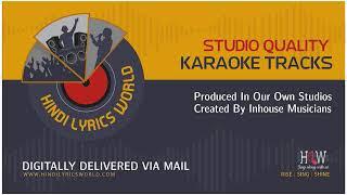 Tu Kahe Agar Jeewan Bhar Karaoke With Scrolling Lyrics