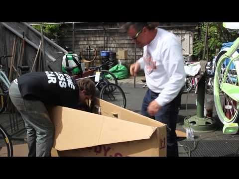 AirCaddy Unboxing - Ship or No Ship - Bicycle Transport - BikemanforU