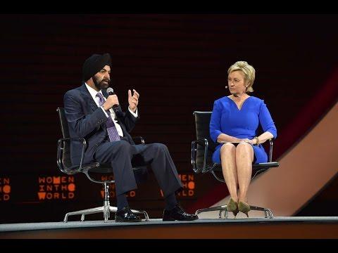 MasterCard CEO Ajay Banga on how he's addressing gender inequality