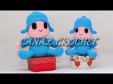 Amigurumi Licorne crochet 2/2 / Unicorn amigurumi crochet (english ... | 360x480