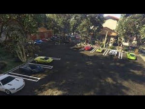 gta 5 garajes ocultos(campaña) - youtube