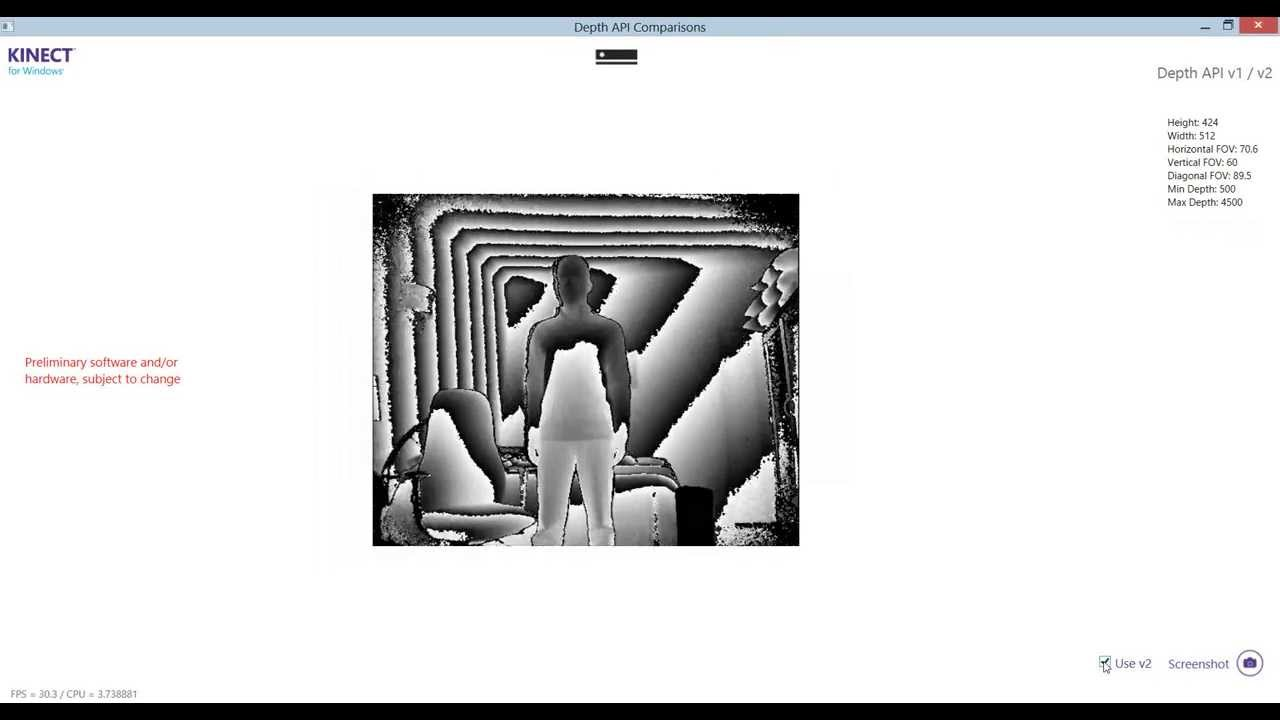 the urban canuk, eh: Comparing Kinect v1 and v2 Depth Data