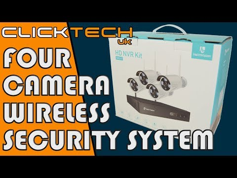 HeimVision HM241 4 Camera Wireless Security System Unboxing and Review