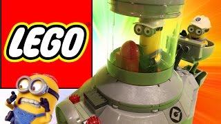 Minion Lego Mega Bloks Spaceship UNBOXING Toy Review Despicable Me Giant Egg