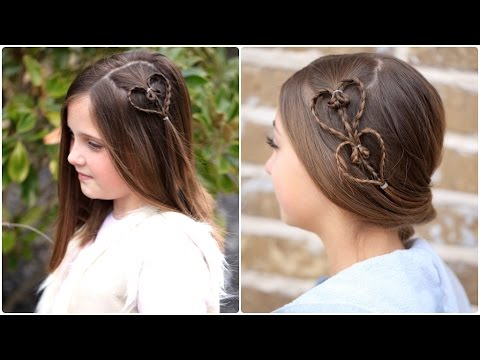 Accent Hearts | Valentines Day Hairstyles