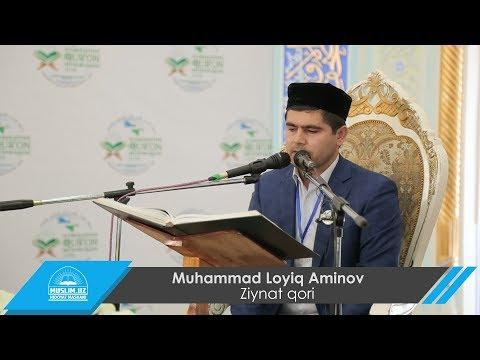 Qorilar musobaqasidan lavha: Muhammad Loyiq Aminov