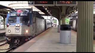 ᴴᴰ Amtrak Northeast Regional Action at Baltimore Penn Station