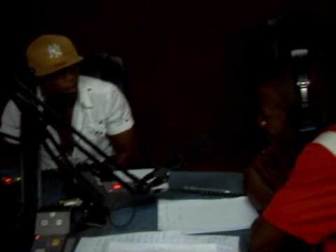 stephane mbida, in National Radio of cameroon ,cameroun, 94fm,crtv
