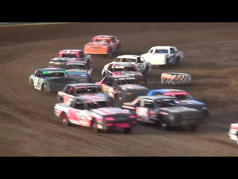 IMCA Hobby Stock make up feature Independence Motor Speedway 7/13/19