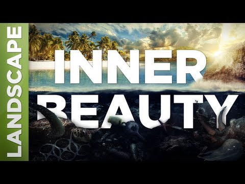 "Speed Art – ""Inner Beauty"" + Wallpaper {Landscape / Paysage} (Adobe Photoshop CS6)"