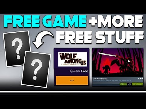 GET A FREE GAME ON STEAM RIGHT NOW + MORE FREE STUFF + HUGE PC GAME REVEALS!